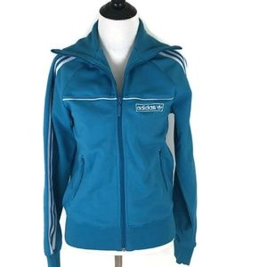 Women's Adidas Retro Look Track Jacket Size Medium